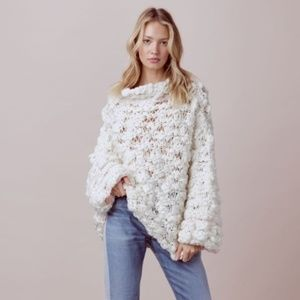 FOR LOVE & LEMONS - Cloudy Day Popover Sweater